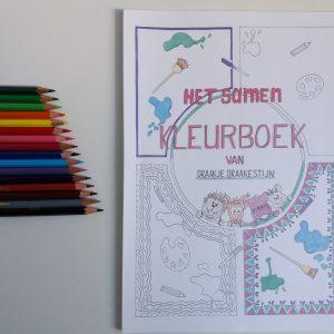Samenkleurboek Draakje Draakestijn