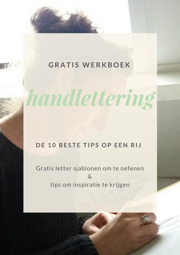 gratis e-book handlettering