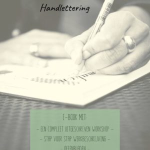e-book handlettering workshop