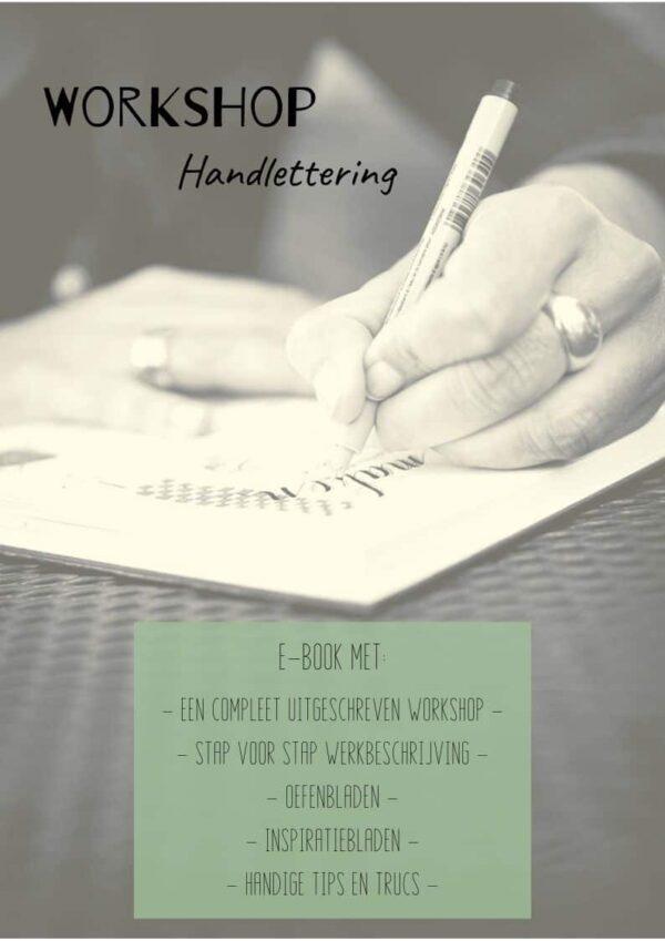 e-book handlettering workshop