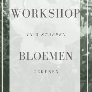 workshop bloemen tekenen