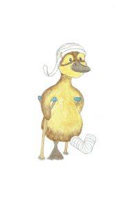 Hoe teken je een karakter voor een kinderboek